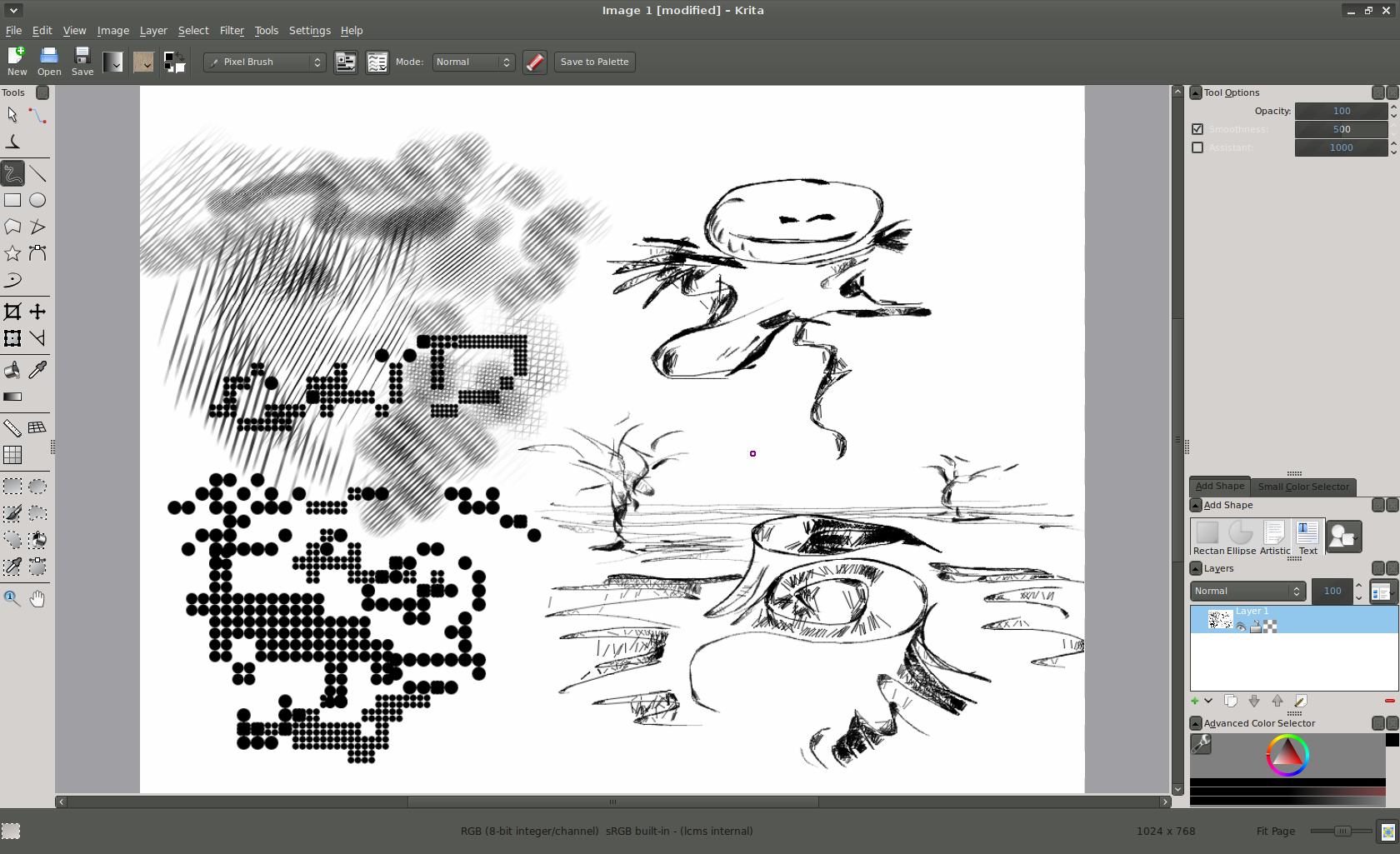 Modern Art: A Look at Krita 2 3 | Linux com | The source for
