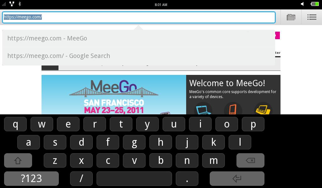 MeeGo Keyboard