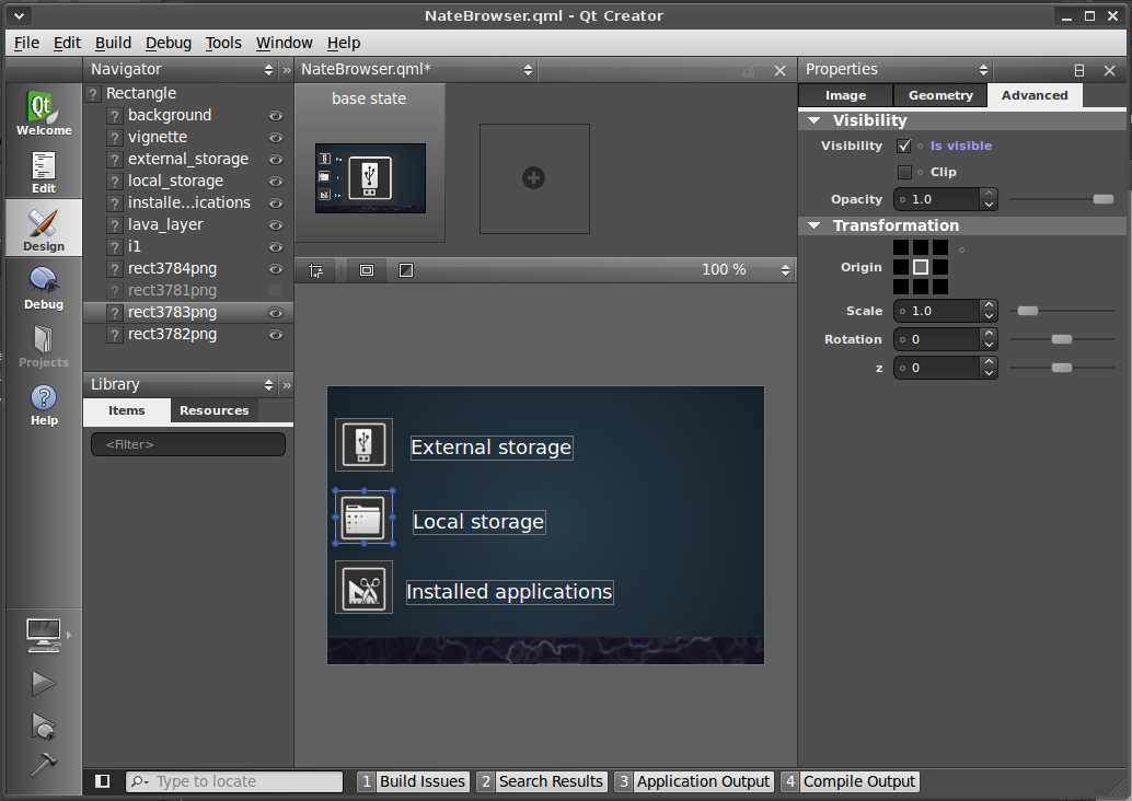 Weekend Project: Creating Qt Interfaces with GIMP | Linux com | The
