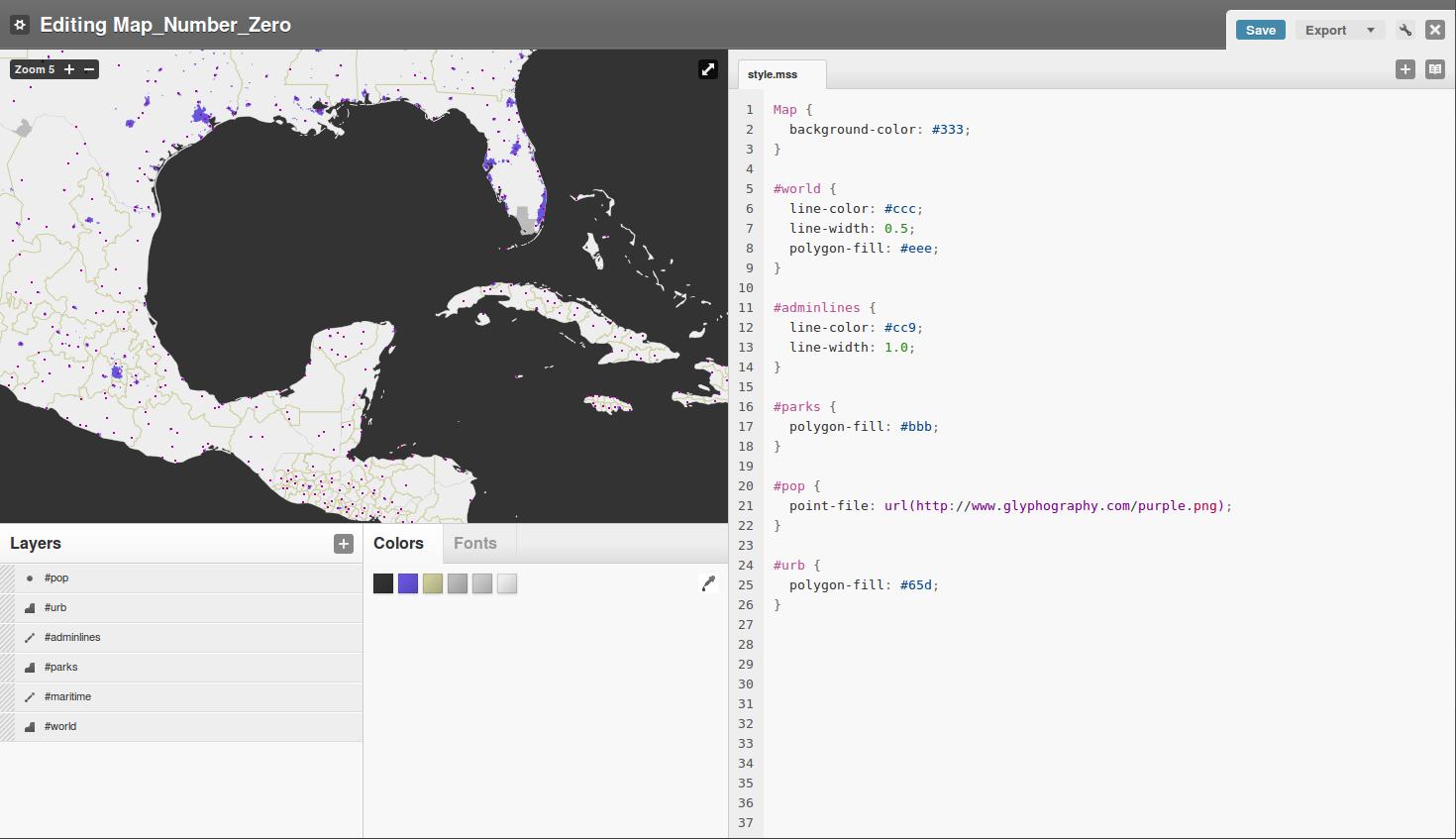 TileMill Puts Web GIS on the Map - Linux com