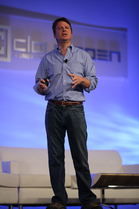 Jim Zemlin at CloudOpen 2012.