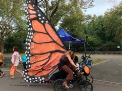 Butterfly bikes maker faire
