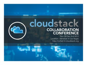 CloudStack Collaboration