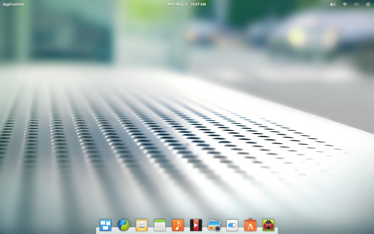 Freya default desktop