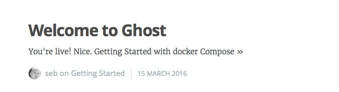 Docker compose tutorial image