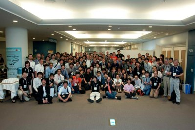 LinuxCon Japan attendees 2012