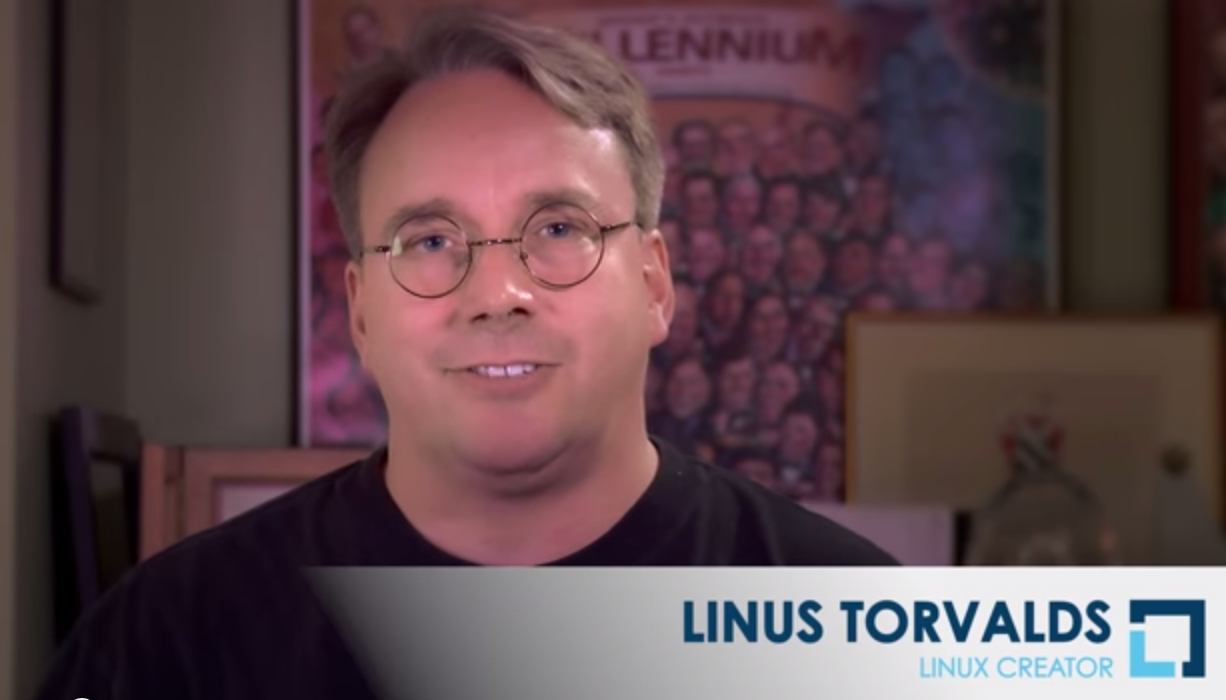 Linus Torvalds Intro to Linux