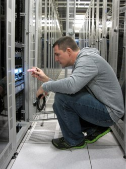 Linux Foundation sysadmin at work