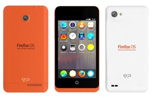 Mozilla Firefox OS developer phones
