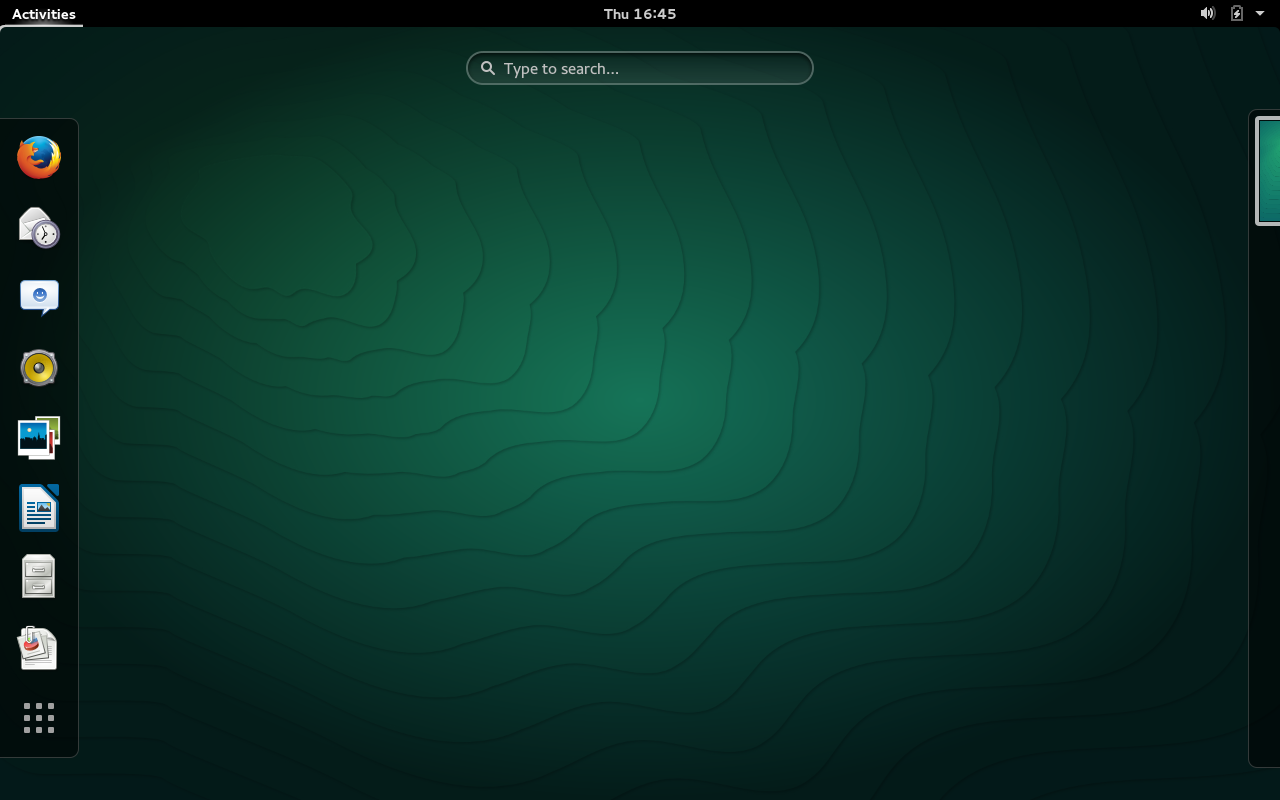 A fresh install of openSUSE 13.2