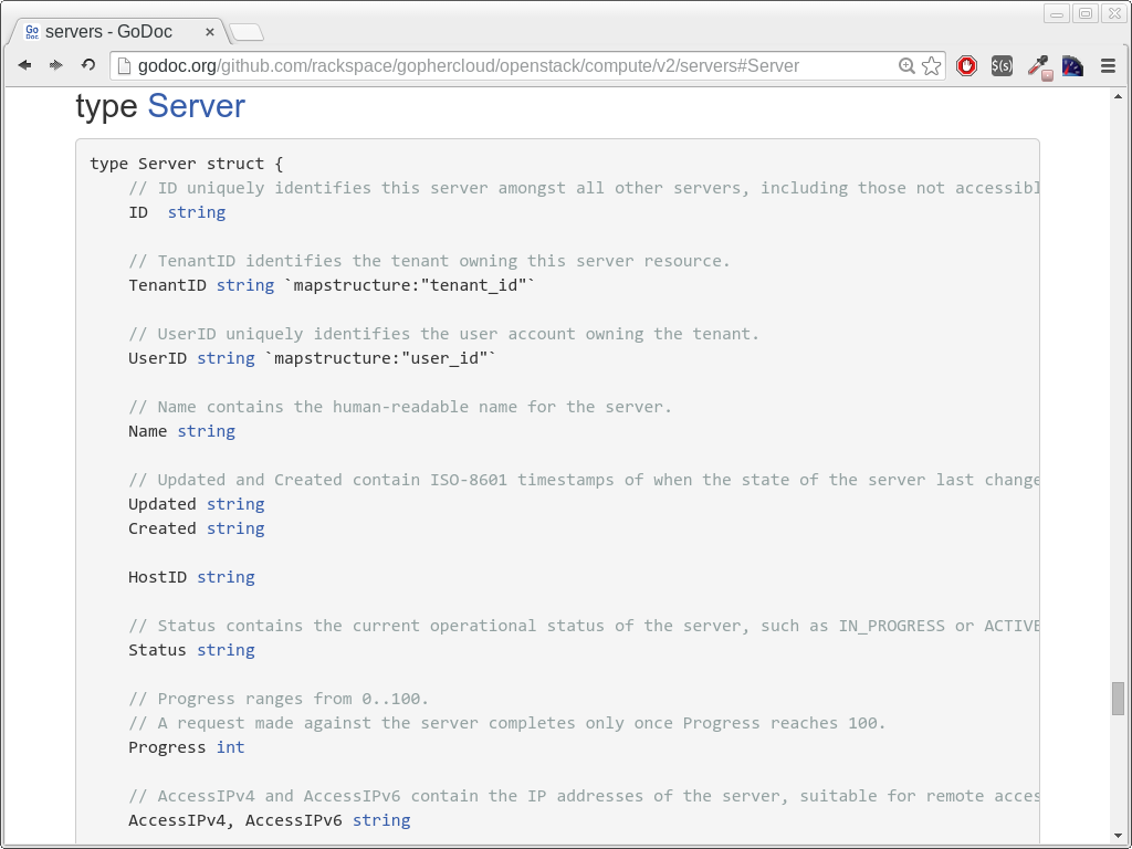 OpenStack API 2