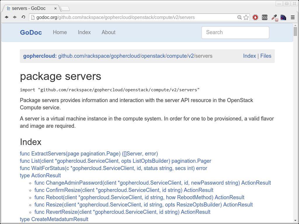 OpenStack API