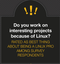 Best thing about Linux jobs