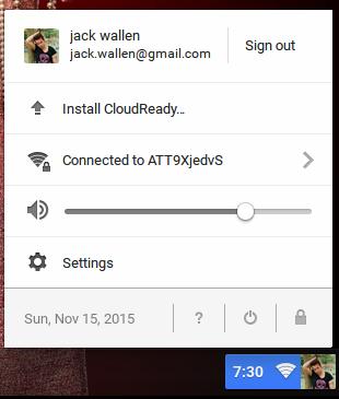 cloudready installation