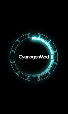 cyanogenmod boot screen