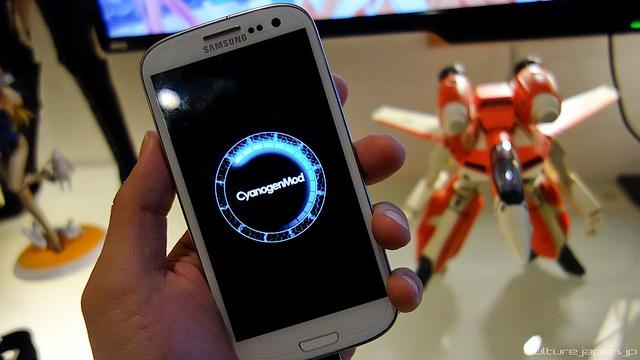 cyanogenmod on Samsung phone