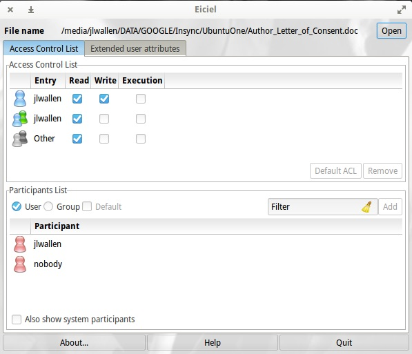 How to Manage User Permissions From the GUI on Linux | Linux com