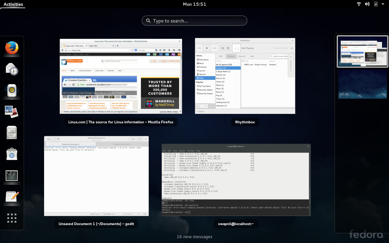 Fedora 21 Release Review: An Impressive Developer