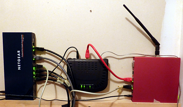 fig 1 Linux router