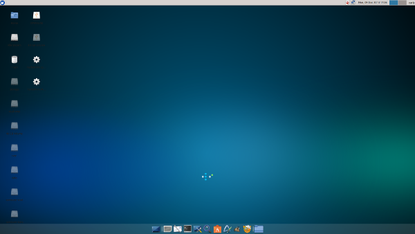 fig-2 xubuntu desktop