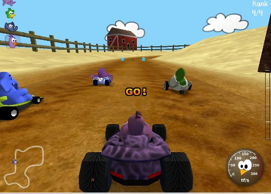 TuxKart linux game