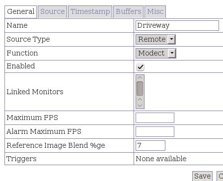 fig-4 general tab configuration