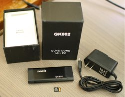 gk802 mini PC out of the box