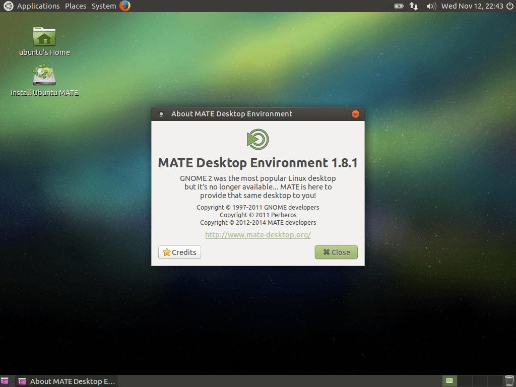 ubuntu mate
