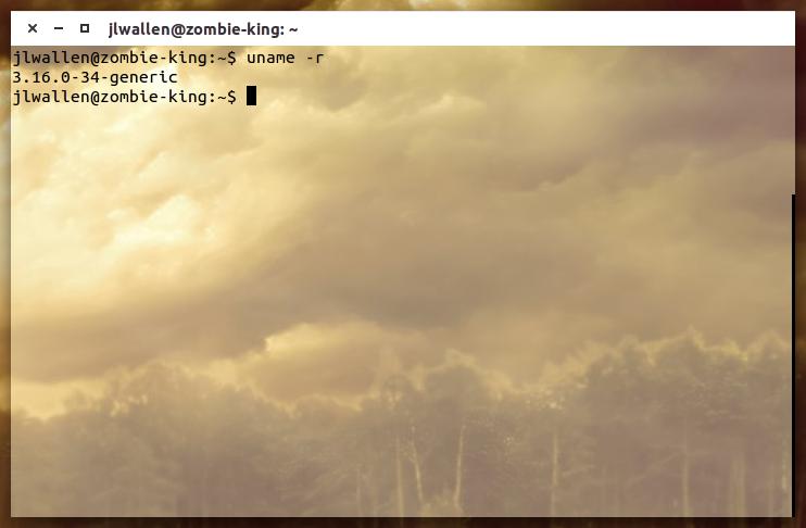 kernel release version