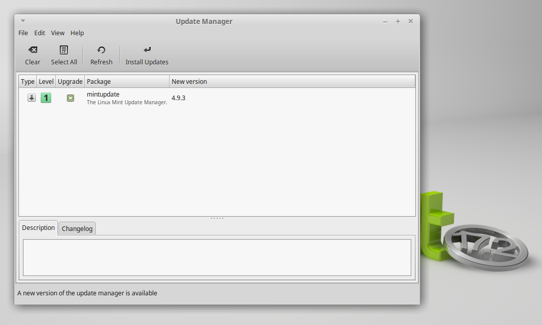 Open 'Update Manager', refresh it, and install all the checked packages there.