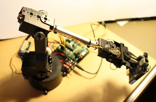 lynxmotion BeagleBone Black robot arm