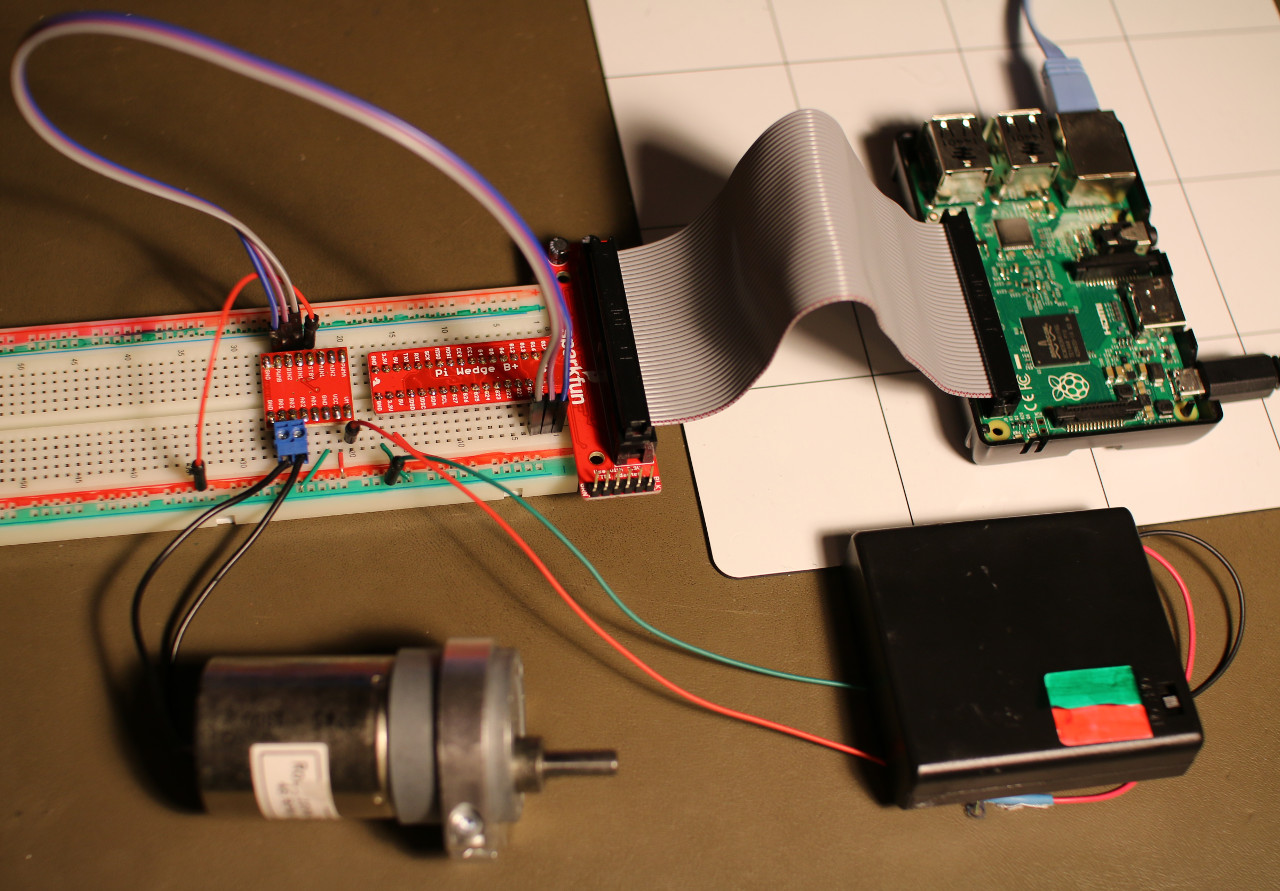 Raspberry Pi motor