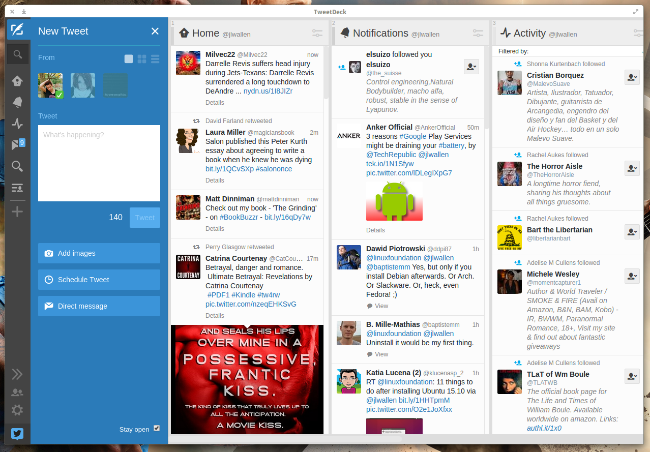Best in Breed Twitter Clients for Linux - Linux com