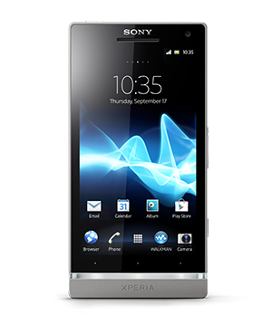 Sony Xperia SL Android smartphone