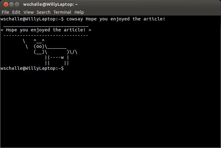 Fun Linux Terminal Commands ! - Linux com