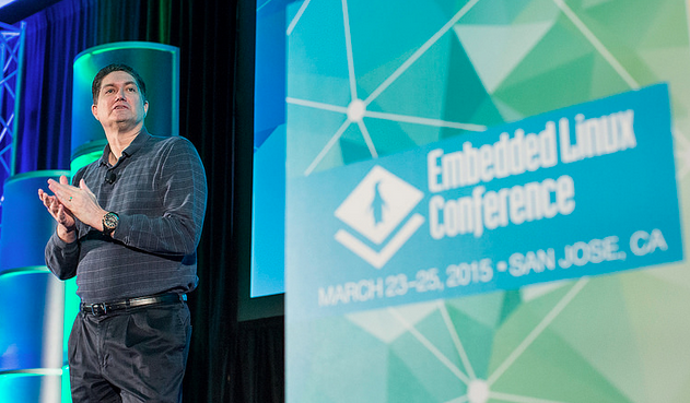 Tim Bird of Sony Mobile, Moderator at Embedded Linux Conference 2015