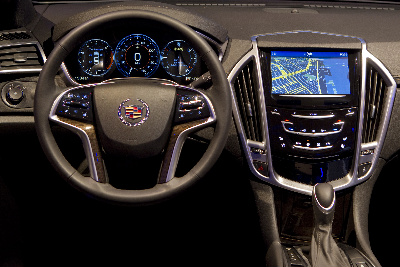 Cadillac CUE infotainment system, SOURCE: Cadillac News Photo