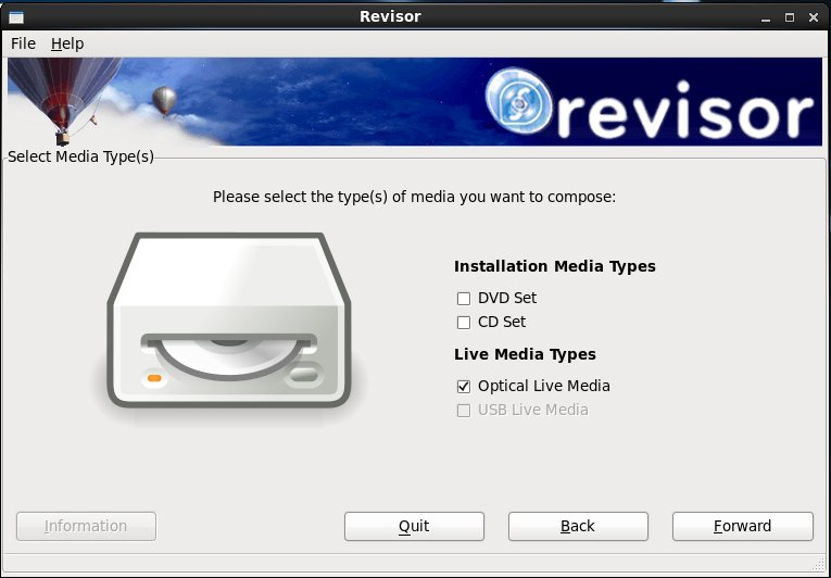 Figure 2: Easily create custom spins with graphical tools like Revisor.