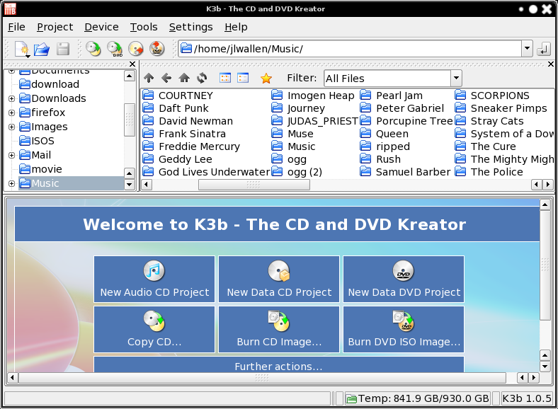 Burn CDs, DVDs and ISOs with K...