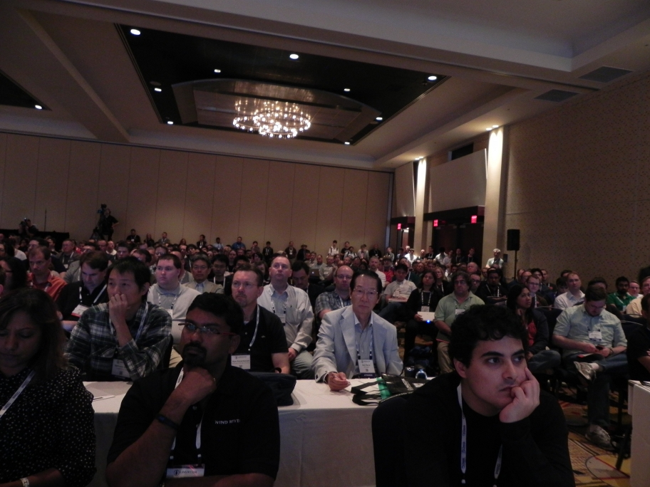 LinuxCon North America 2011 Audience