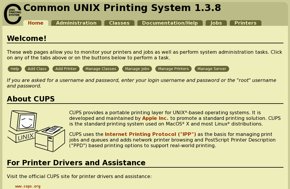 Linux 101: Printing | Linux com | The source for Linux information