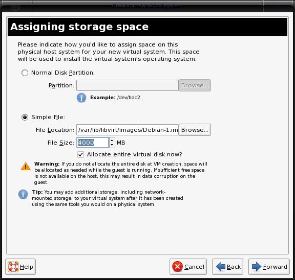 Storage Type