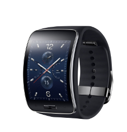 The Samsung Gear S smartwatch runs Tizen.