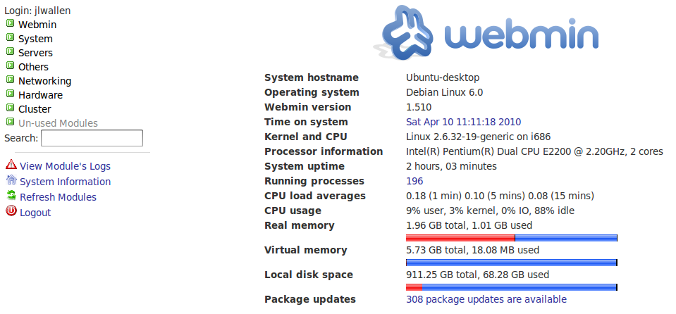 Samba Configuration with Webmin - Linux com