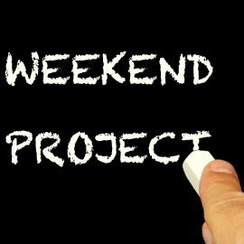 Weekend Project Logo