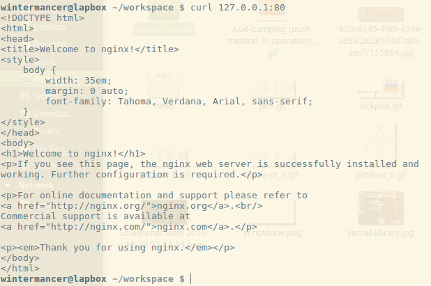 Testing Simple Scripts in a Docker Container - Linux com