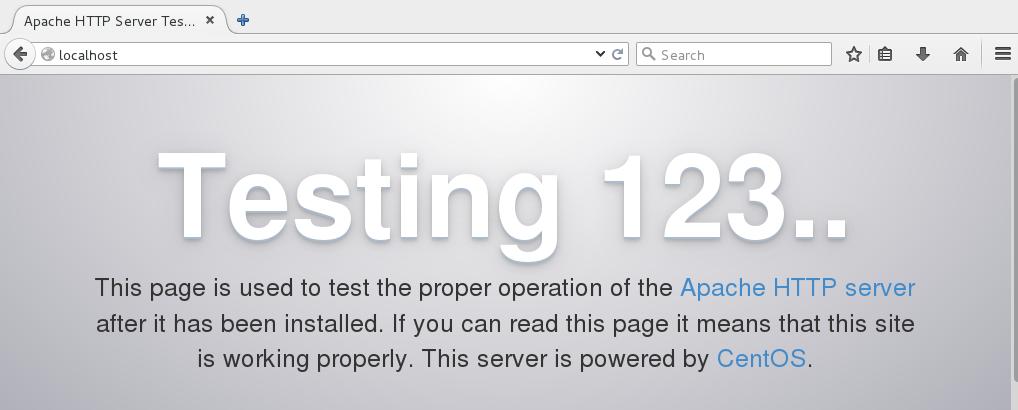 Apache on CentOS Linux For Beginners - Linux com