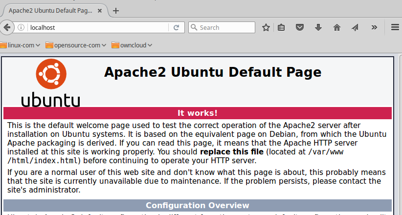 Apache on Ubuntu Linux For Beginners - Linux com