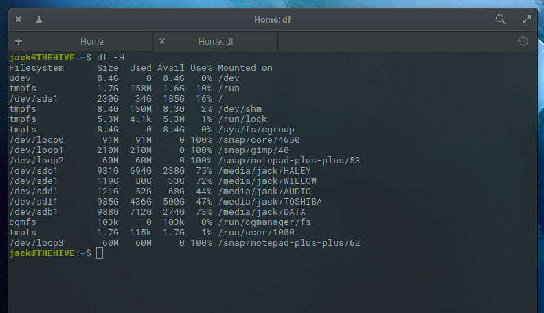 How to Check Disk Space on Linux from the Command Line - Linux.com