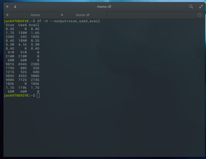 How to Check Disk Space on Linux from the Command Line